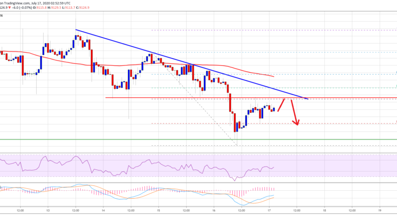 Bitcoin Trading Near Last Line of Defense: Can Bulls Save the Day?