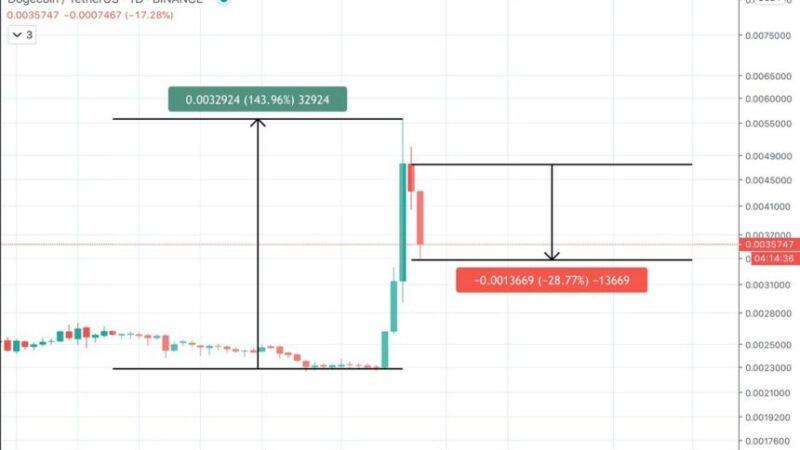 TikTok Dogecoin Pump Purveyors Experience Their First Crypto Dump