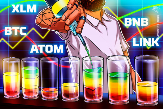 Top 5 Cryptocurrencies to Watch This Week: BTC, LINK, ATOM, XLM, BNB