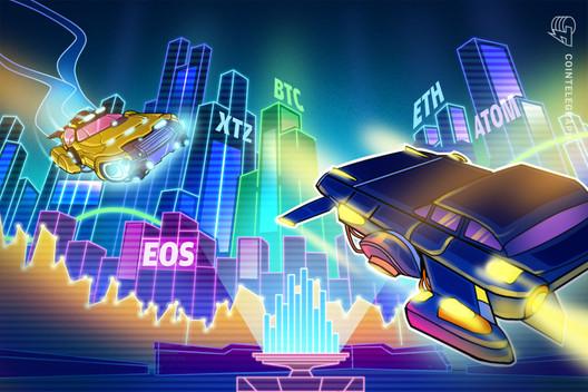 Top 5 Cryptocurrencies to Watch This Week: BTC, ETH, EOS, XTZ, ATOM