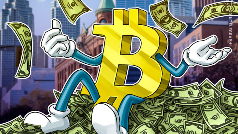 Canada's first public Bitcoin fund hits $100M mark