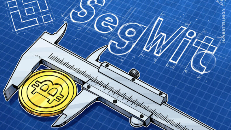 Binance enables SegWit support for Bitcoin deposits as adoption grows