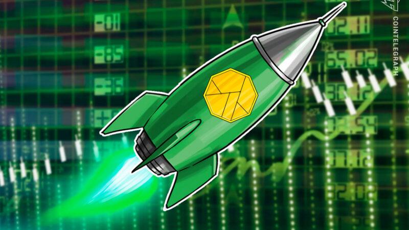 1INCH price rallies 30% as its monthly DEX volume nears $6 billion