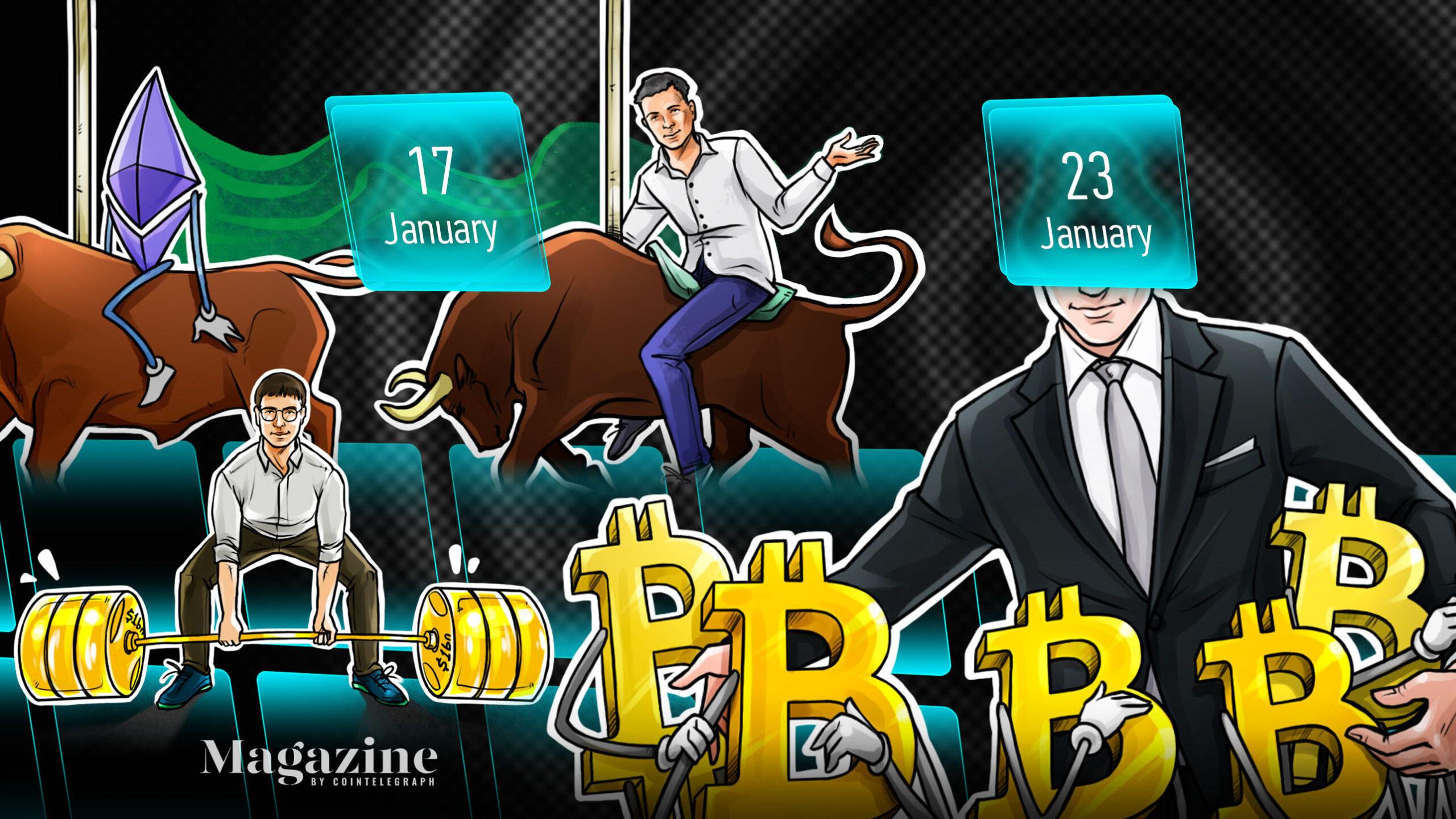 Bitcoin in jeopardy, Ether briefly breaks records, Biden takes action: Hodler's Digest, Jan. 17–23