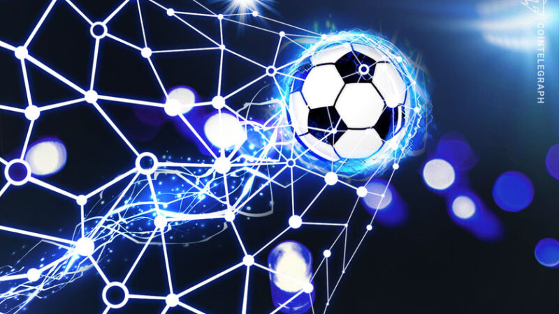 Hat-trick hero: Empty stadiums get blockchain and soccer to play together