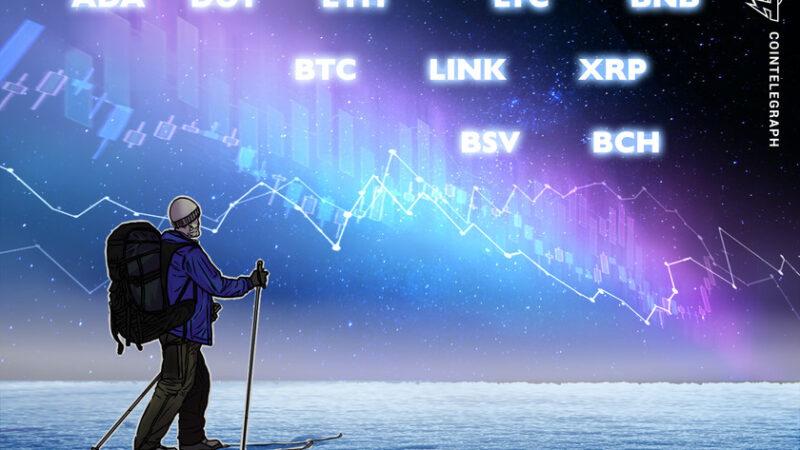 Price analysis 1/1: BTC, ETH, XRP, LTC, DOT, BCH, ADA, BNB, LINK, BSV