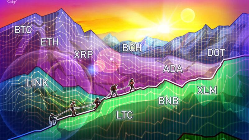 Price analysis 1/11: BTC, ETH, XRP, LTC, BCH, ADA, DOT, LINK, BNB, XLM