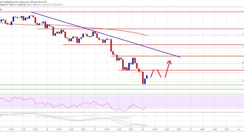 TA: Bitcoin Nosedives To $28.5K, Why Important Support Turned Resistance