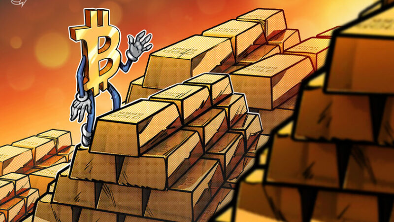 Bloomberg's Mike McGlone says BTC could be headed to $50K as gold loses appeal