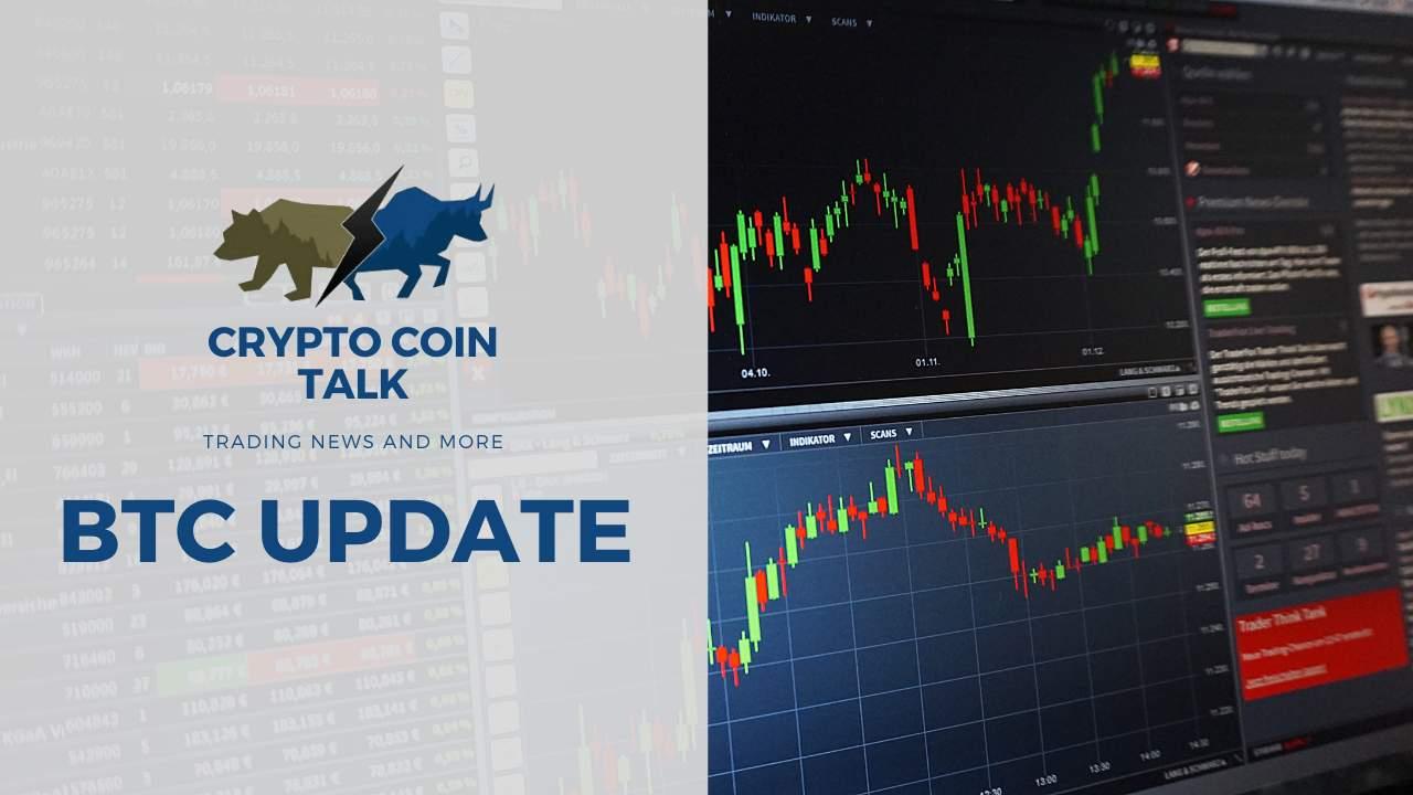 CryptoCoinTalk: Bitcoin koers is hersteld van flinke dip?