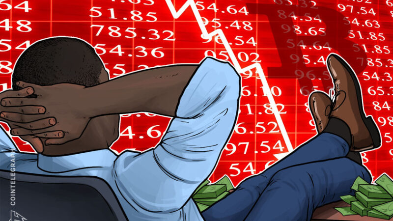 Whale who sold Bitcoin before 2020 crash cashed out $156M before this week's 20% dip