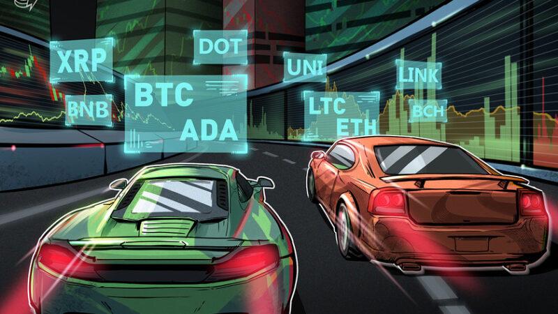 Price analysis 3/15: BTC, ETH, BNB, ADA, DOT, XRP, UNI, LTC, LINK, BCH