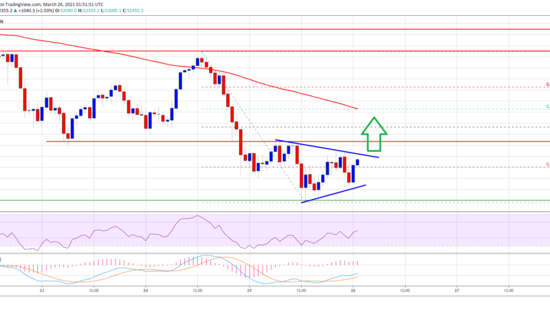 TA: Bitcoin Steadies Above $50K, Why BTC Could Recover To $55K