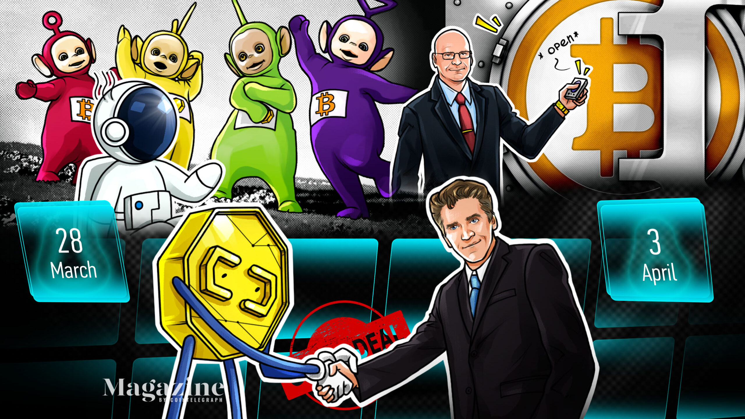 Bitcoin's comeback, XRP doubles in a week, Coinbase's big profits: Hodler's Digest, April 4–10