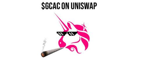 GCAC lanceert Uniswap Marketing Token