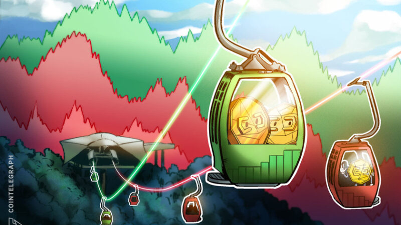 Altcoins pop while Bitcoin looks for support near $50,000