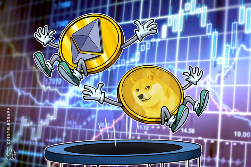Ethereum price hits $3.5K record as Winklevoss exchange adds Dogecoin