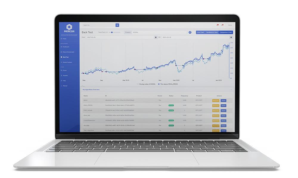 Mercor Finance: traden met algoritmes op de Binance Smart Chain