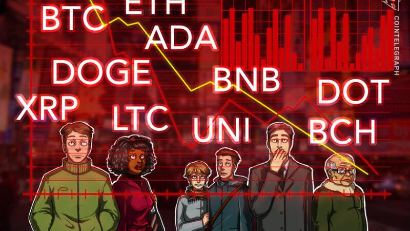 Price analysis 5/17: BTC, ETH, BNB, ADA, DOGE, XRP, DOT, BCH, LTC, UNI