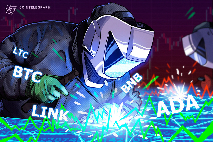 Top 5 cryptocurrencies to watch this week: BTC, BNB, ADA, LTC, LINK
