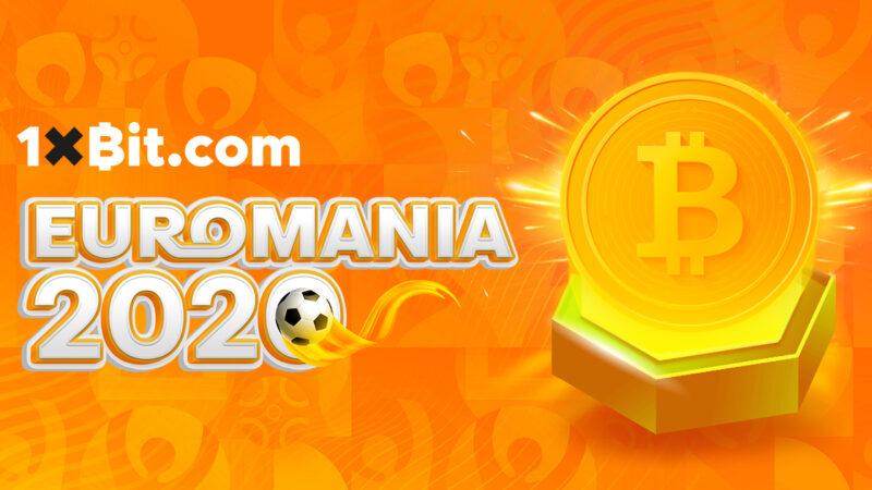 Win fantastische cryptoprijzen in de speciale Euro 2020-loterij van 1xBit